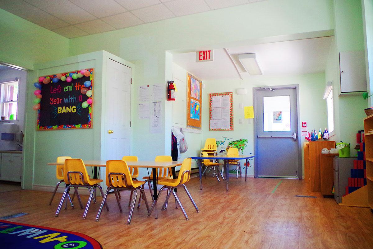 inside school